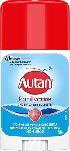 Autan Family Care Stick Repellente - 50 ml - [pacco da 4]