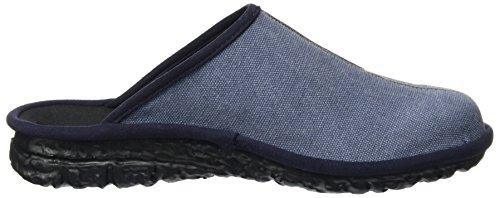 ROMIKA Mikado H 52, chaussons d'intérieur homme Bleu jean