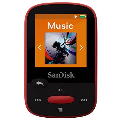 lecteur-mp3-sandisk-clip-sport-4-go-rouge