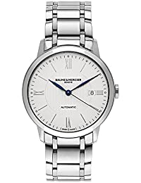 Baume & Mercier Classima Automatic Stainless Steel Mens Watch Calendar MOA10215