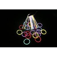 "Glow Sticks - THZY 100 8"" Light up Glow Sticks Bracelets Necklaces Mixed Colors Party Supplies"