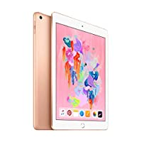 Apple iPad 2018 with Facetime - 9.7 Inch Retina Display, 32GB, WiFi, Gold