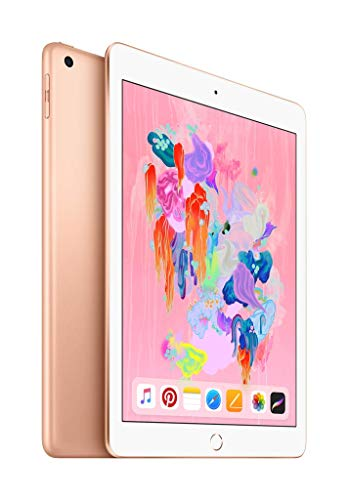 Apple iPad (Wi‑Fi + Cellular, 32GB) - Gold - Wi Facetime
