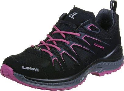 LOWA signore INNOX EVO GTX LO Ws 320616-9952 nero / bacca, Gore Tex, Exchangeable, dimensioni 37,5-40,5 schwarz