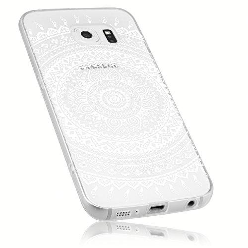 mumbi Schutzhülle Samsung Galaxy S6 / S6 Duos Hülle im Mandala Design