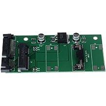 FunnyTod365 Mini Pci-E Msata Ssd a 1,8 pulgadas Micro Sata adaptador convertidor tarjeta