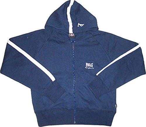 Everlast Full Zip Hoody. Kapuzen Sweatshirt mit durchgehenden Reißverschluß. Größe Medium - Everlast Gerippt