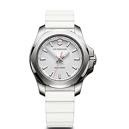 Victorinox Reloj Digital para Mujer de Cuarzo con Correa en Caucho 241769