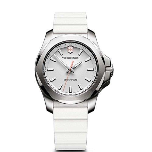 Victorinox Damen Digital Quarz Uhr mit Gummi Armband 241769