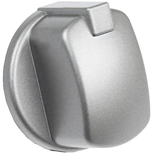 Spares2go - Botón control pomo horno Indesit plata/inox