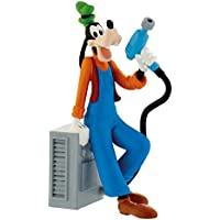 Bullyland 15462 Mickey And Friends Figure Disney Junior - Racer Goofy