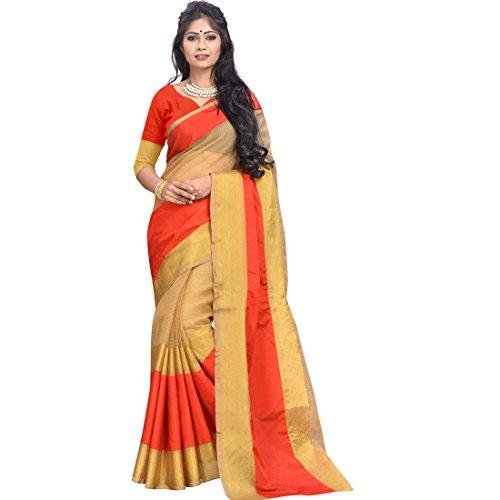 sarees (Banarasi Cotton silk sarees silk sarees kanchipuram silk cotton sarees silk sarees for women silk sarees for women party wear sarees for women latest design Women\'s Cotton Silk Saree sarees b