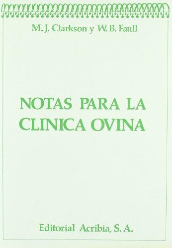 Notas para clínica ovina por M. J. Clarkson