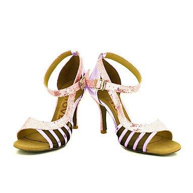 XIAMUO Anpassbare Frauen Beruf Tanz Schuhe Silber