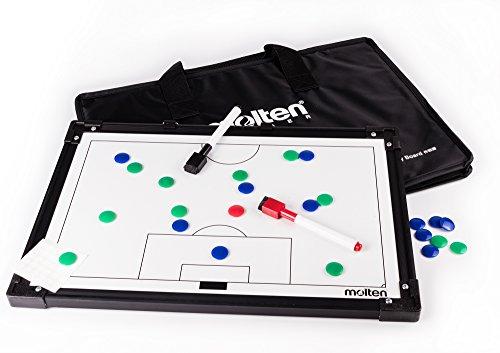 molten Taktikboard Fußball - 30,5 x 45 cm inkl. Magnete und Stifte