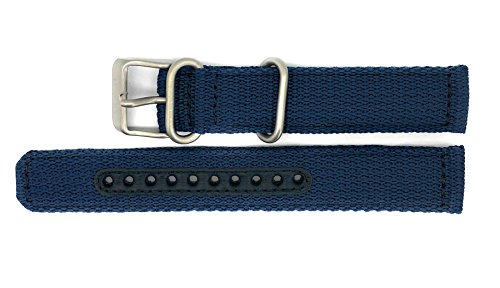 Seiko 5 SNK807/SNK807K2 Replacement Blue Fabric Watch Strap 4K12JZ