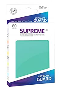 Ultimate Guard ugd010537 - Supreme UX Sleeves, tamaño estándar, Color Turquesa