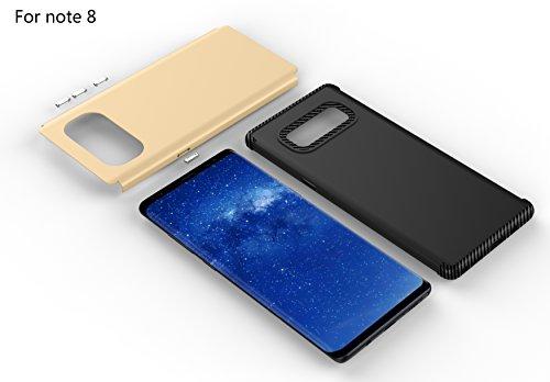 iPhone X Hülle,MOONESS 2 in 1 Slim Fit Schlagfesten Stoßstangen Bumper Case Kratzfeste Schlanke Handyhülle für iPhone X 5.8 pollici(Silber) Gold