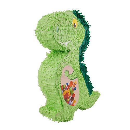 Folat 60932 Dino Pinata: EIN super Highlight für die nächste Kinder Geburtstagsparty (Jungen Pinata Geburtstag)