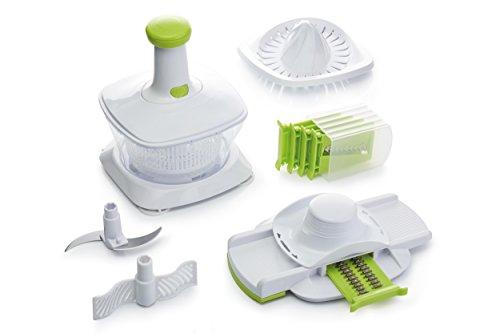 Kitchen Craft Playstation Manuelle Küchenmaschine/Mandoline Hobel-Set