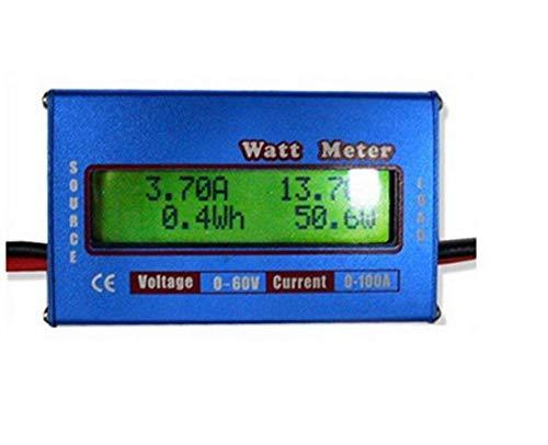 yosoo® messwertanzeige DC 60 V/100 A hochpr äzise Potencia Cuchillo pantalla LCD vatímetro - Azul