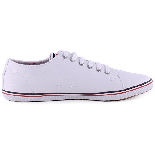 Fred Perry Kingston Twill, Sneaker donna Bianco