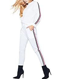 Smart Womens White Tracksuit Size S Women's Clothing Clothing, Shoes & Accessories