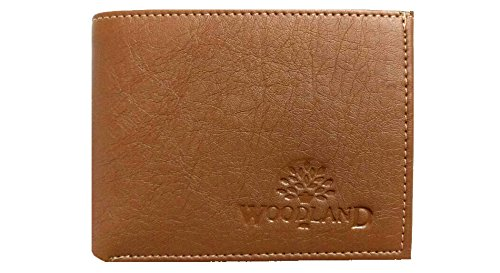 Vinik Woodland Men's Leather Wallet- Brown  available at amazon for Rs.230