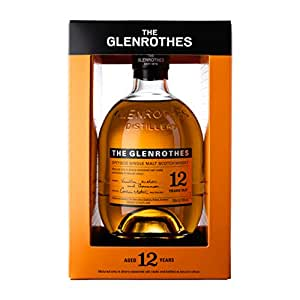 The Glenrothes 12 Year Old Speyside Single Malt Scotch Whisky, 70 cl