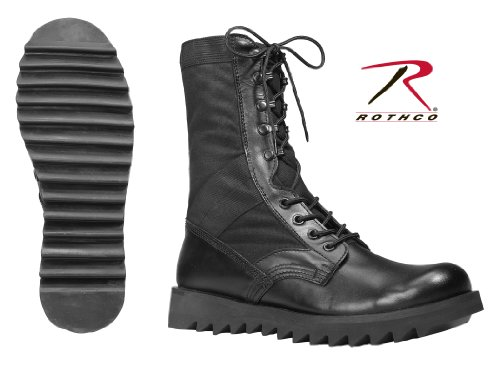 Rothco Wave Sohle Jungle boots- schwarz, 8R 8r-boot