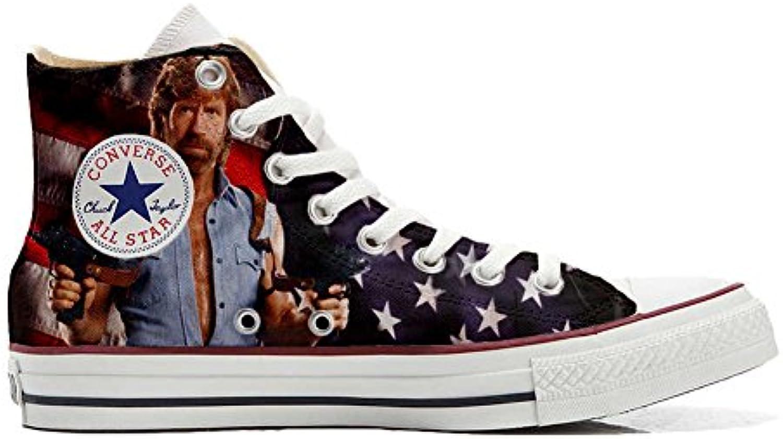 Converse All Star Personalisierte Schuhe (Custom Produkt) Telefilm Cult Texas