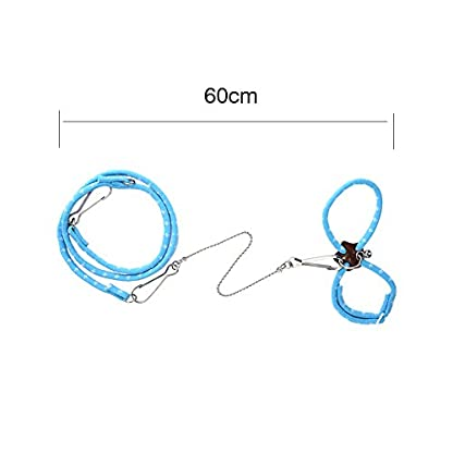 Adjustable Harness Vest and Leash Set Leads for Pet Dwarf Hamster Gerbil Rat Mouse Ferret Chinchillas Squirrel Small… 7