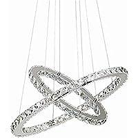 Kronleuchter Chrom Silber 8x60W 60cm Pendelleuchte Lüster Hängelampe Deckenlampe