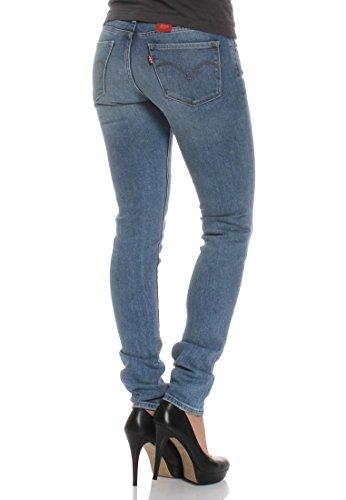 Levis Jeans Women 711 SKINNY 18881-0184 Miles To Go Blau