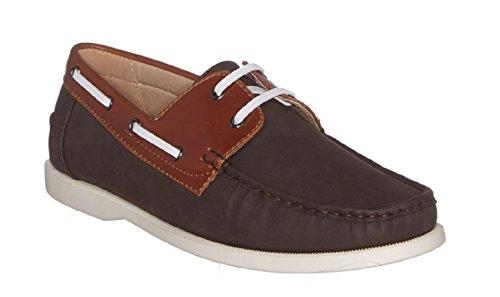 Chaussures bateau causal et tendance Findlay Camel