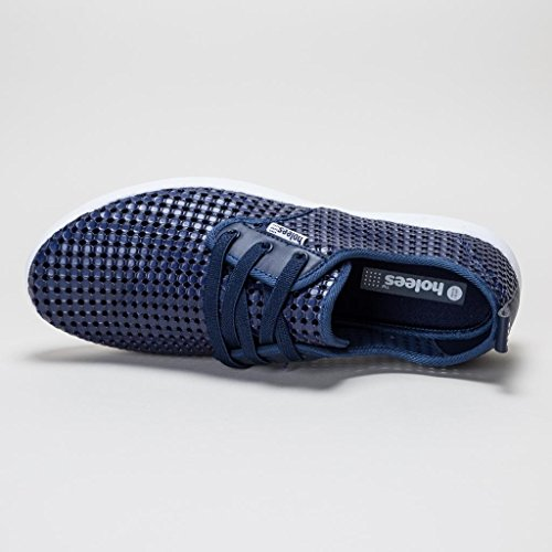 holees plimp Herren Memory Foam leicht Schlupfhalsband plimpsole Schuhe, verschiedene Farben und Größen zur Auswahl Dunkelblau