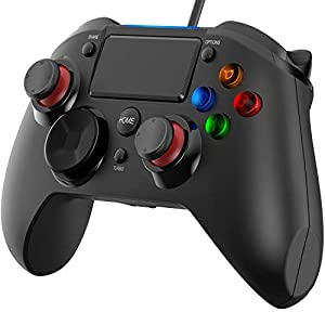Playstation 4- Wired Gaming Controller für PS 4/ PS 3/ PC (Windows XP/ 7/8/ 8.1/10)/ Android/Steam