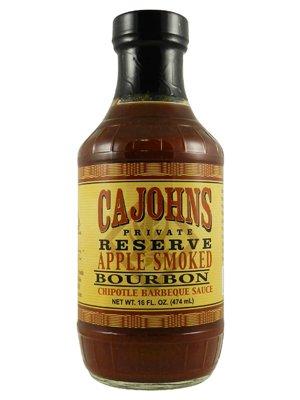 Ca John's Apple Smoked Bourbon Chipotle BBQ Sauce (Zucker Spa Brauner)