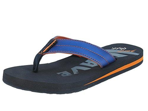 Beppi sandales Teenager badelatschen séparateurs d' Bleu - Bleu