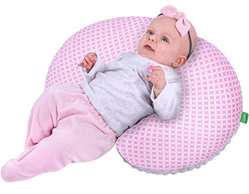 Lulando Minky - Cojín de lactancia 55 x 42 cm para bebés y adultos. Ideal...