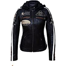 huge discount af43e 65502 Amazon.it: Giacche Pelle Moto Donna
