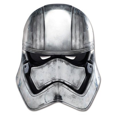 Star Wars Episode 7 Captain Phasma Face Maske - Mehrfarbig (Episode 7 Kostüme)