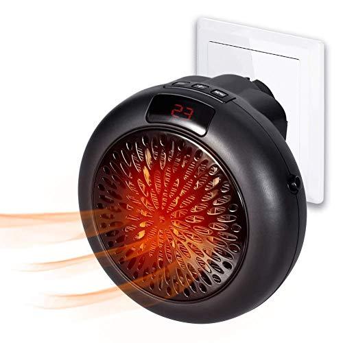 Insta Heater - Mini Estufa Eléctrica Portátil Calefactor Cerámico con Termostato Ajustable, Temporizador...