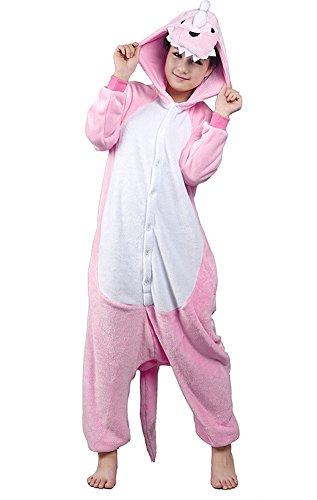 tonwhar® Pyjama Dinosaure Halloween costumes pour salon Porter - Rose