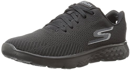 Skechers Performance Herren Go Run 400 Laufschuhe, Schwarz (Black), 44.5 EU (Herren Fit-sensor)