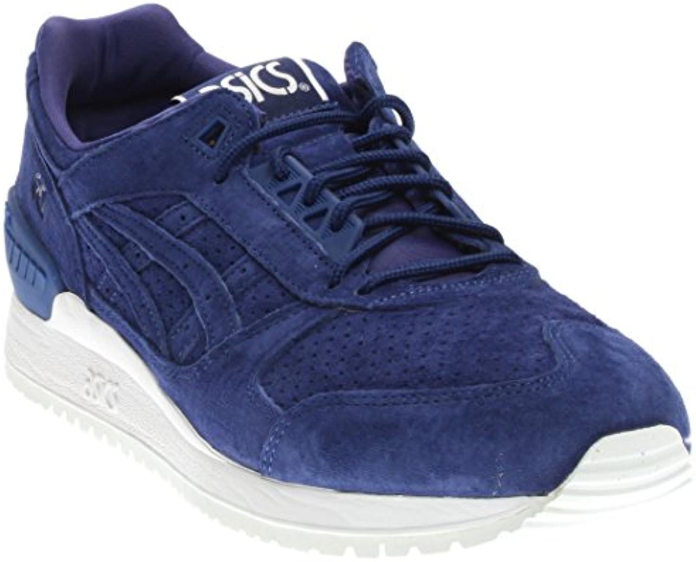 Onitsuka Tiger Asics Unisex Gel Respector Blue Print/Blue Print Sneaker Men's 8  Women's 9.5 Medium