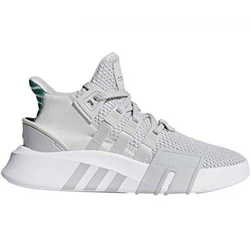 adidas Unisex-Kinder EQT Bask ADV Hohe Sneaker, Grau (Grey One/Grey One/Sub Green), 36 EU Jungen Schuhe Adidas Basketball