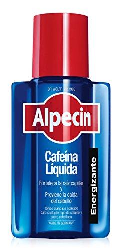 41Hy7pbrM0L - Alpecin Cafeína Líquida, 1 x 200 ml - Líquido anticaída - energía pura para las raíces