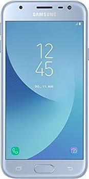 Samsung Galaxy J3 Smartphone (12,67 Cm (5 Zoll) Display, 16 Gb Speicher, Android 7.0) Blau 1