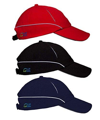 Capcool Sport- u. Freizeit-Kappe/Cap: WELTNEUHEIT (100% UV-Schutz!), höchster Lichtschutzfaktor weltweit!, angenehm kühl beim Tragen, kein Sonnenbrand (Hautkrebs-Risiko!)